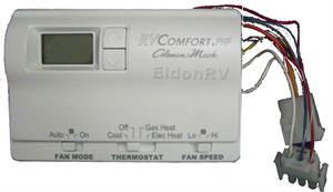 6536A335 thermostat, digital (9 wire) 6536a3351 for coleman 2 stage heat pumps coleman mach thermostat wiring diagram at crackthecode.co