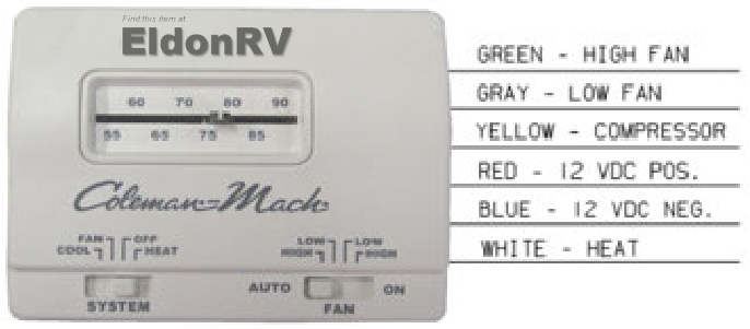 Rv Ac Thermostat Wiring dometic rv thermostat wiring diagram ... Rv Thermostat Wiring on