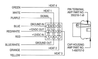8330D3351 Diagram coleman mach zone control digital thermostat for rv's ( 8330d3351 ) coleman thermostat wiring diagram at gsmportal.co