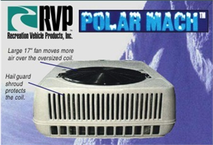 Quickly cool your RV living space with our rooftop RV Air conditioners.